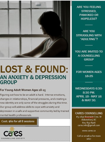 CARES - Counselling & Restoration Services - Groups